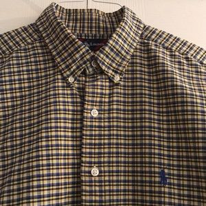 Oxford Button Down Shirt by RL